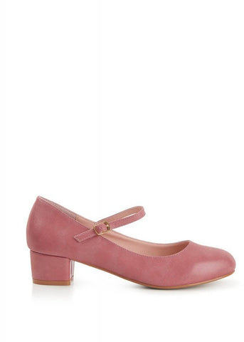 Lulu Hun Mary Jane 60's Pumps Roze