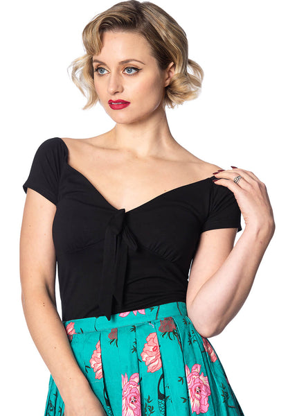 Banned Bow Wow 50's Top Zwart
