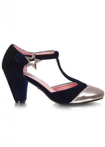 Lulu Hun Stella Star 60's Pumps Navy