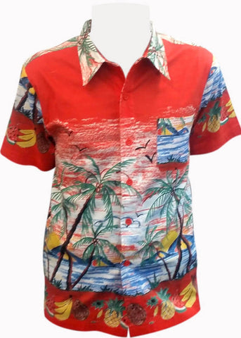 Banned Heren Shirt Palm Spring
