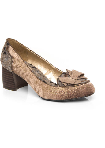 Ruby Shoo Thalia 50's Pumps Mink