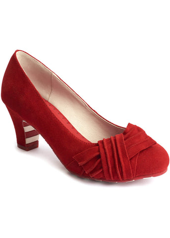 Lola Ramona Ava Ruby Tuesday 50's Pumps Rood