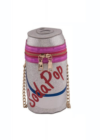 Collectif Soda Pop Tas Zilver