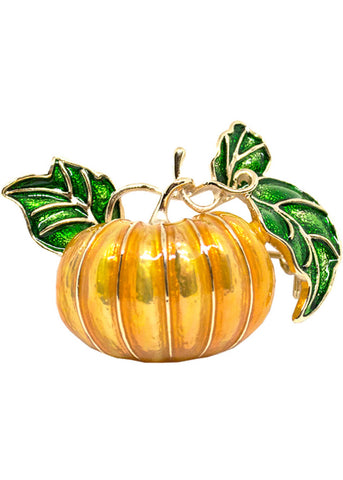 Collectif Penelope Pumpkin Broche Oranje
