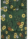 Collectif Bebe Pineapple Slice Gypsy 70's Top Groen