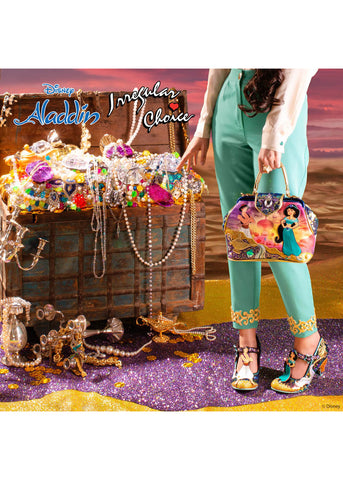 Irregular Choice Aladdin A Whole New World Tas Blauw Multi