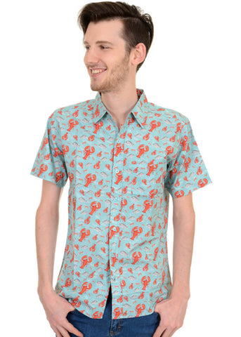 Run and Fly Heren Lobster Shirt