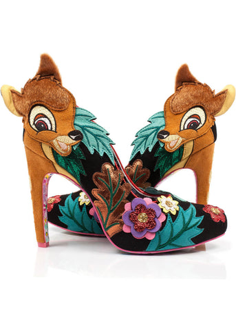 Irregular Choice Disney Bambi Prince of the Forest Pumps
