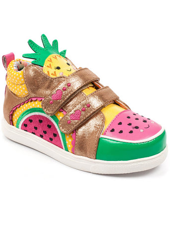 Irregular Choice Kids Fruit Salad Schoenen Goud