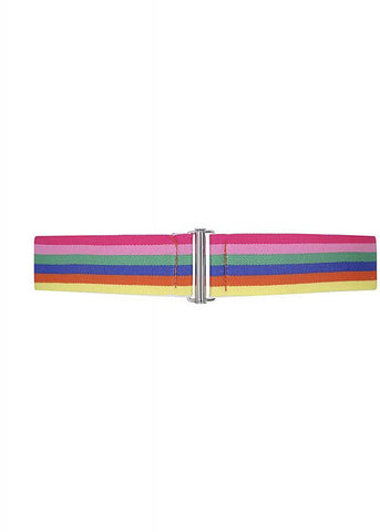 Collectif Billie Rainbow Elastische 50's Riem Multi