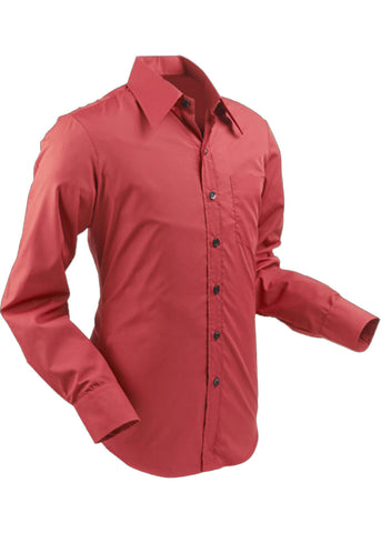 Chenaski Heren Necessary Shirt Bordeaux