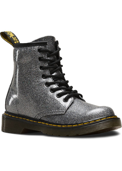 Dr. Martens Junior 1460 Coated Glitter Veterlaarzen Gunmetal