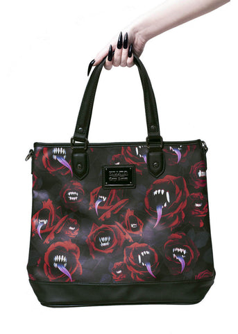 Killstar Lilith's Tongue Tote Tas Zwart