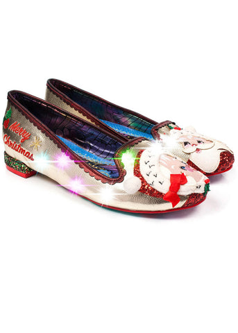 Irregular Choice The Clauses Ballerina's Goud Rood