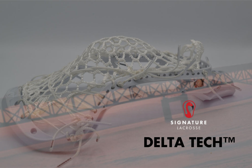 signature origin lacrosse head delta tech