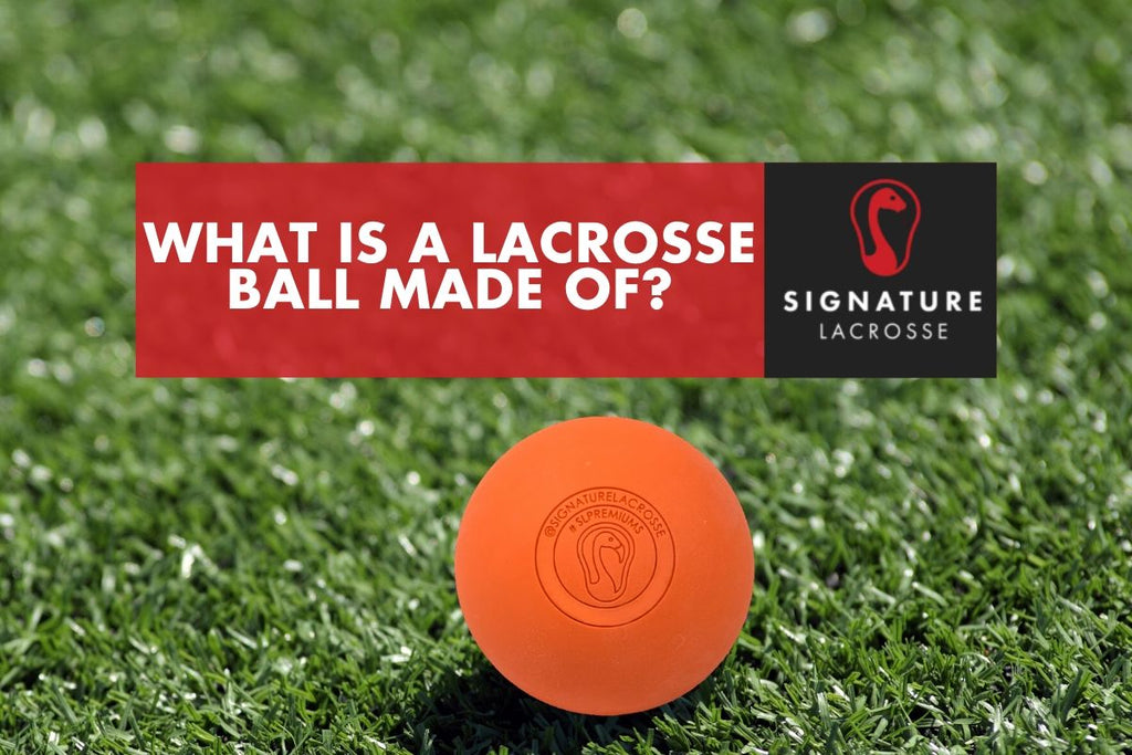 whats inside a lacrosse ball