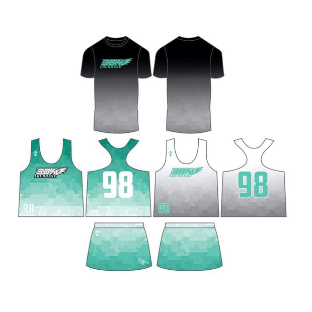 30A Lacrosse Club Women's 3 Piece Game Set:SPRING 1st - 4th Grade Girls Signature Lacrosse