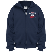 Manataa Wildcats Youth Full Zip Hoodie