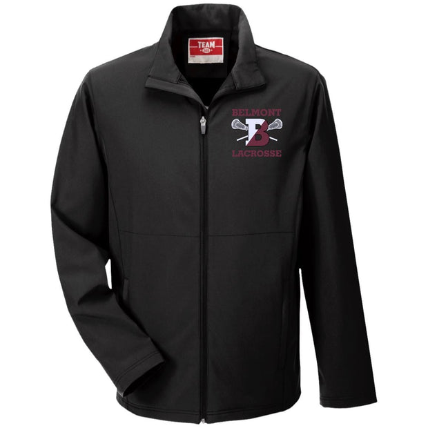 Belmont Lacrosse Men's Soft Shell Jacket Signature Lacrosse