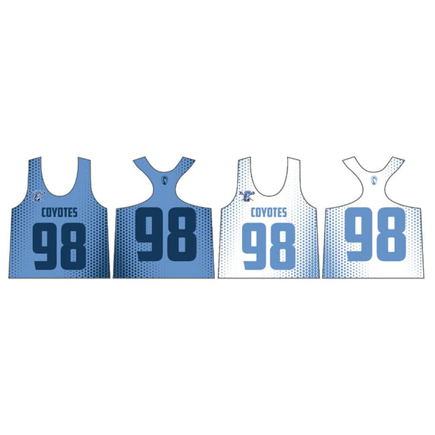 Coyotes Youth Lacrosse Women's Performance Pinnie (Sold Seperately):U8 Girls Signature Lacrosse