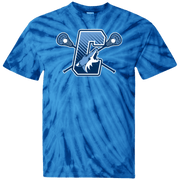 Coyotes Youth Lacrosse Youth Tie Dye T-Shirt Signature Lacrosse