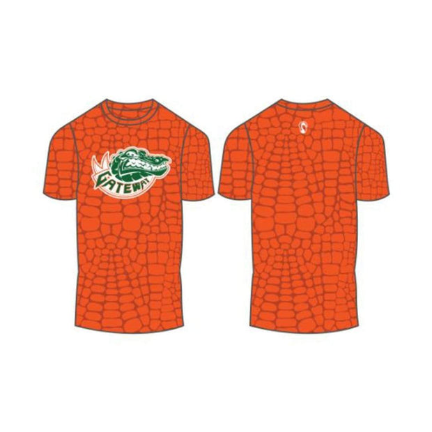 Gateway Gators Lacrosse Men's Performance Short Sleeve Shooter Shirt (Sold Seperately):2nd Grade Green Team Signature Lacrosse