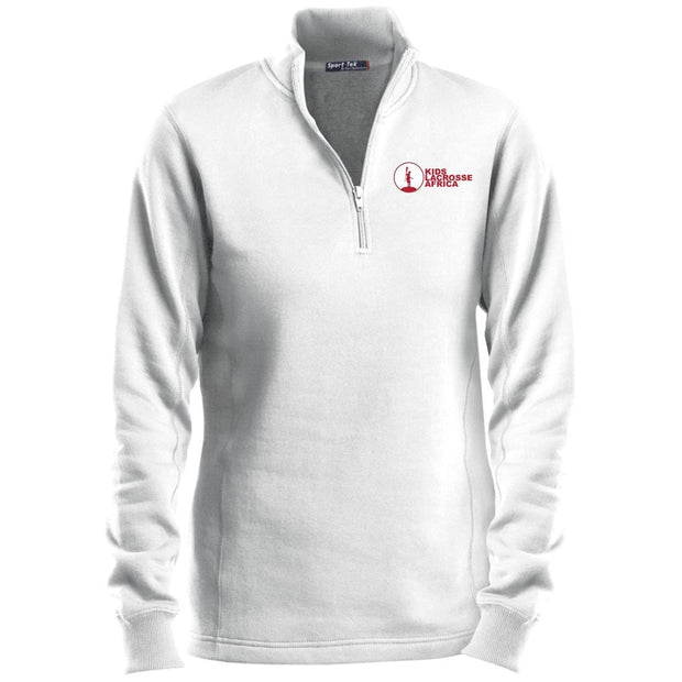 Kids Lacrosse Africa Ladies 1/4 Zip Sweatshirt Signature Lacrosse