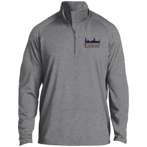 Lakeshore Lacrosse Men's 1/4 Zip Performance Pullover Signature Lacrosse