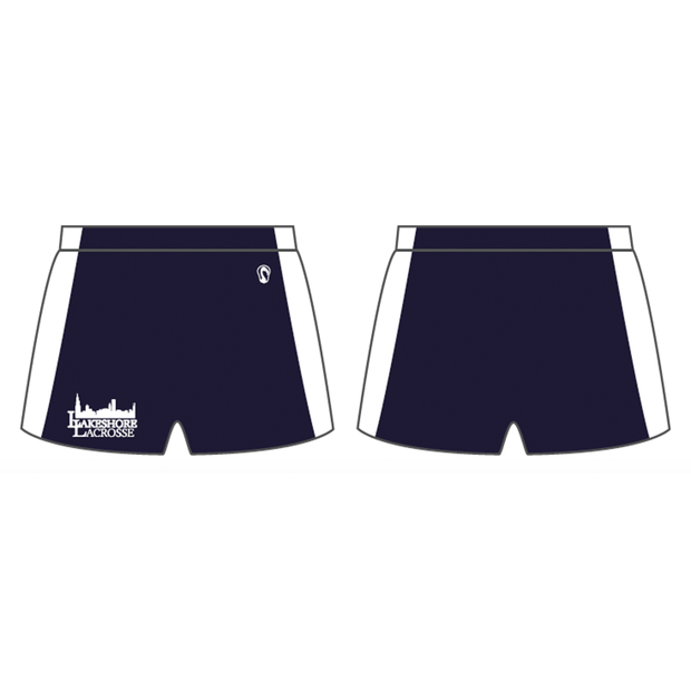Lakeshore Lacrosse Women's Performance Game Shorts (Sold Seperately):23 Signature Lacrosse