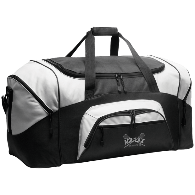 Nantucket Student Lacrosse Equipment Duffel Signature Lacrosse