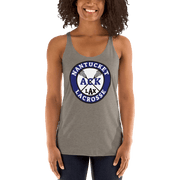 Nantucket Student Lacrosse Ladies Racerback Tank Top Signature Lacrosse