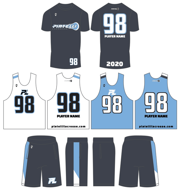 Piatelli Lacrosse Men's 3 Piece Uniform Set:Central-2023/24 Murphy Signature Lacrosse