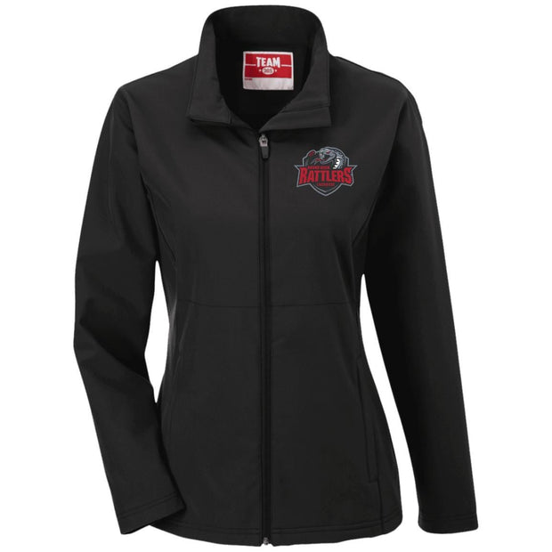 Round Rock Rattlers Lacrosse Ladies Soft Shell Jacket Signature Lacrosse