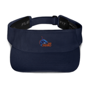 Bay Area Sand Sarks Visor Navy Signature Lacrosse