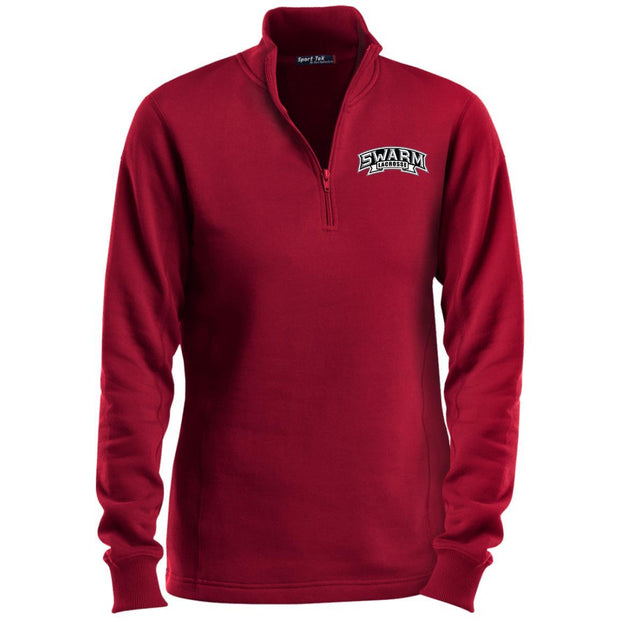 Swarm Lacrosse Ladies 1/4 Zip Sweatshirt Signature Lacrosse
