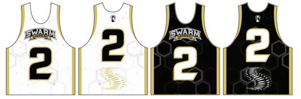 Swarm Lacrosse Performance Game Pinnie (Sold Separately) Signature Lacrosse