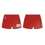 Wilson Lacrosse Youth Girls Performance Game Shorts (Sold Seperately) Signature Lacrosse