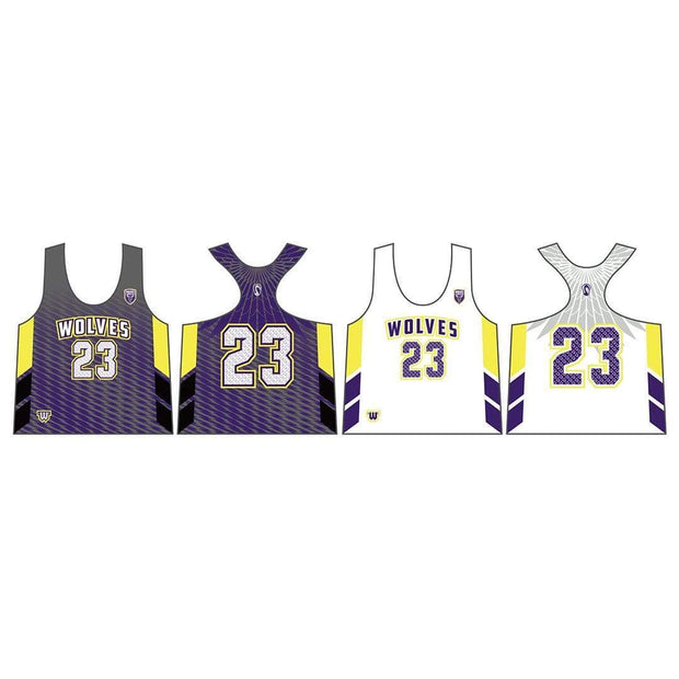 Wolves Lacrosse Women's Performance Pinnie (Sold Seperately):U14 Signature Lacrosse