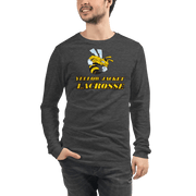 Yellow Jacket Lacrosse Adult Premium Long Sleeve T -Shirt Signature Lacrosse