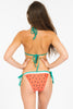 Watermelon Triangle Bikini Top