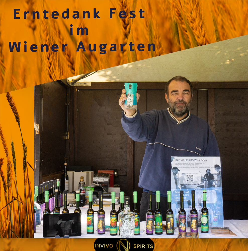 Erntedank Fest in the Viennese Augarten!
