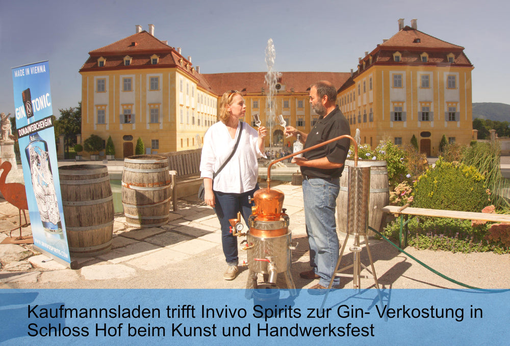 INVIVO SPIRITS WORKSHOP at Kunst und Handwerksfest in Schloss Hof