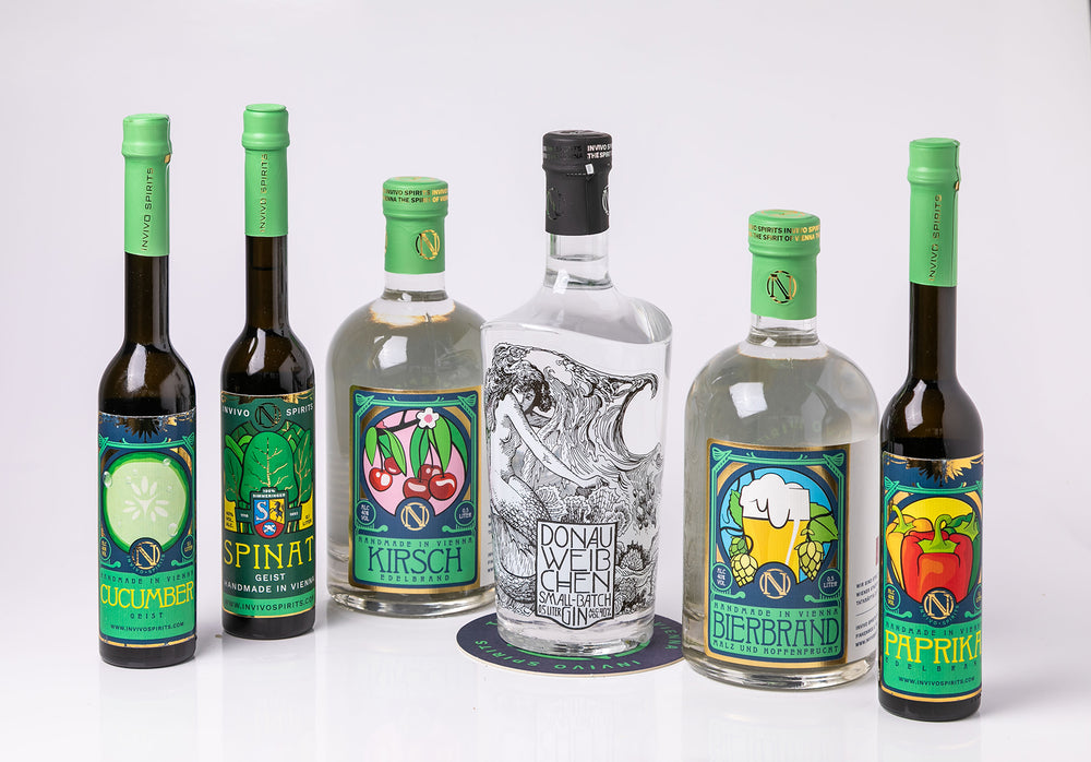 David Crossley's Wide World of Wine loves the products of INVIVO SPIRITS
