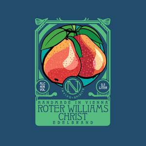 Red Williams Christ Pear Brandy