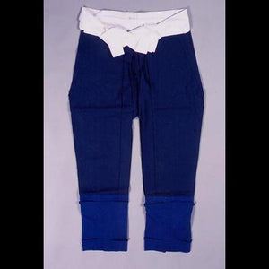 Blue pants for samurai armour たっつけ袴(紺) - Samurai Gift