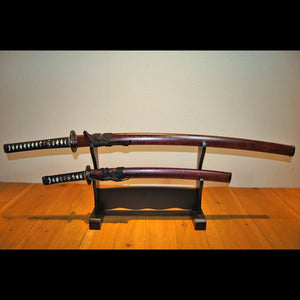 AKAISHIME Swords Set 赤石目セット - Samurai Gift
