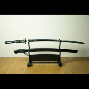 KUROISHIME Swords Set 黒石目セット - Samurai Gift