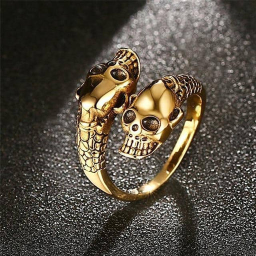 Gold Punk Ring - Salts of Gold