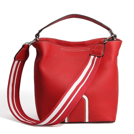 Red Genuine Leather bag