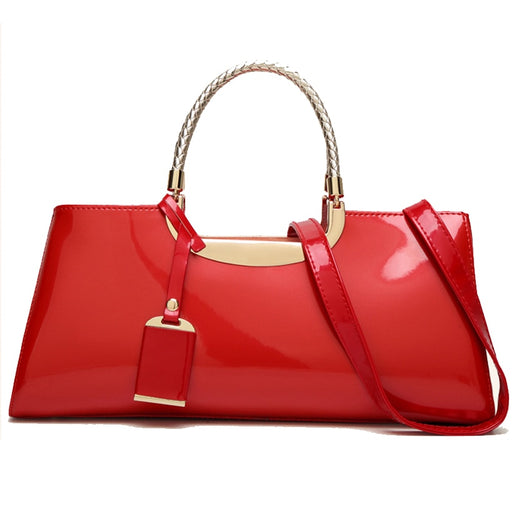 Swathy Red Shoulder Bag